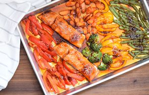 Sheet Pan Salmon Teriyaki