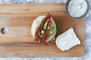 Turkey Bacon Avocado Club