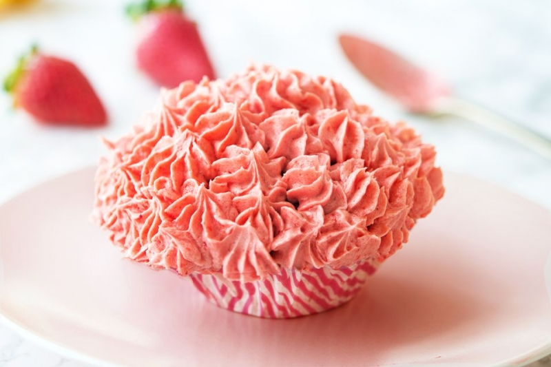 Fresh Strawberry Buttercream Recipe
