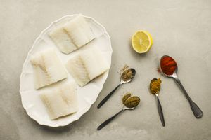 Low-Fat Spice-Rubbed Cod