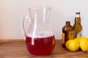 Cranberry Ginger Shandy