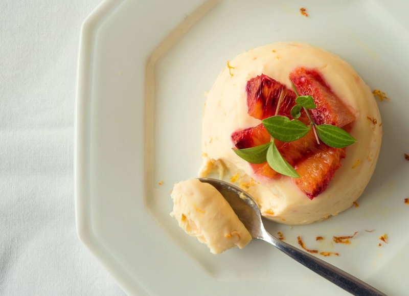 Quick and Easy Blood Orange Panna Cotta Recipe